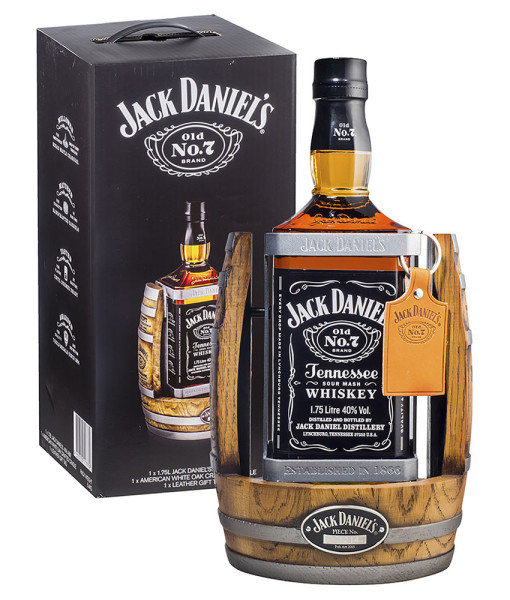 JACK DANIEL'S CRADLE NEW 1.75L - GIFT BOXED