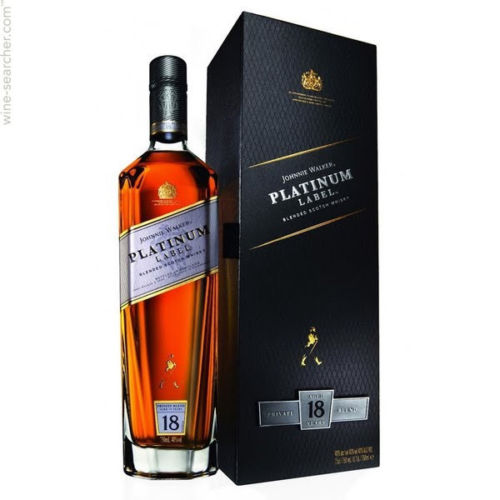Johnnie Walker 18 Year Old Platinum Label Blended Scotch Whisky 750ML