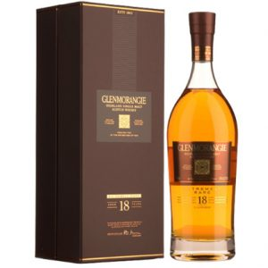 Glenmorangie 18 Year old Extremely Rare Single Malt Scotch Whisky 700ml