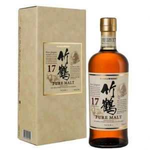 Nikka Taketsuru 17 Year Old Japanese Single Malt Whisky 700ml
