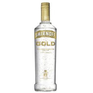 Smirnoff Gold Cinnamon Flavoured Vodka 1000mL