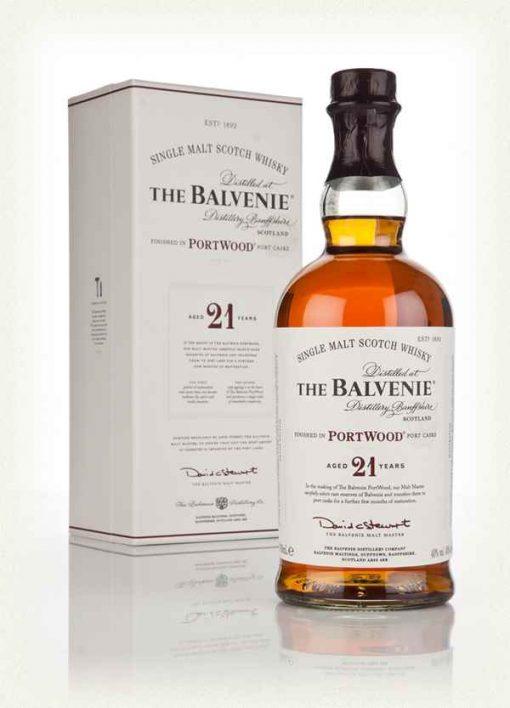 Balvenie Port Wood Finish 21 Year Old Single Malt Scotch Whisky