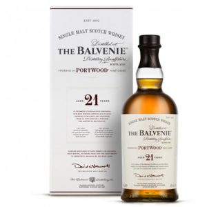 Balvenie Port Wood Finish 21 Year Old Single Malt Scotch Whisky 700ml