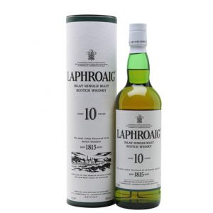 Laphroaig 10 Year Old Scotch Whisky 700mL