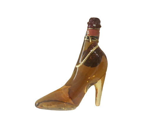 Teichnne shoe shaped 12 year old brandy