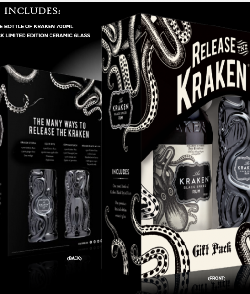 Kraken and bottle