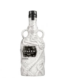 The Kraken Limited Edition Ceramic Black Spiced Rum 700mL