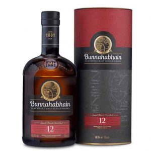Bunnahabhain 12 Single Malt Scotch Whisky 700mL