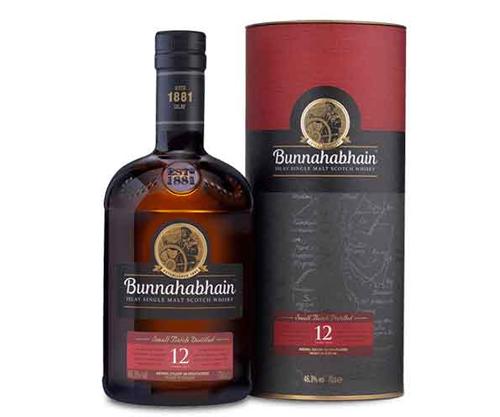 Bunnahabhain 12 Single Malt Scotch Whisky 700mL