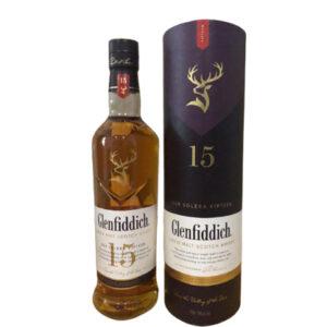 Glenfiddich 15 Year Old Solera Scotch Whisky 700mL