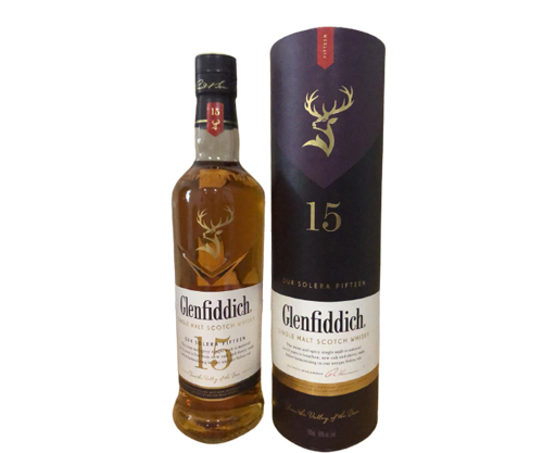 Glenfiddich 15 Year Old Solera Scotch Whisky 700mL