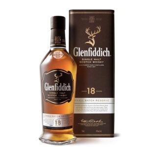Glenfiddich 18 Year Old Single Malt Scotch Whisky 700ml