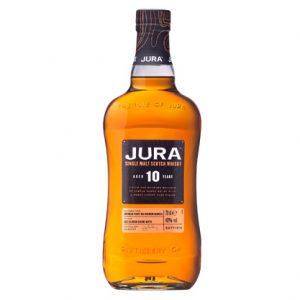 Isle of Jura 10 Year Old Single Malt Scotch Whisky 700mL