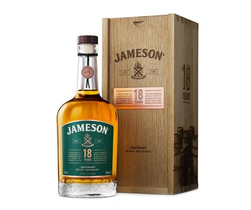 Jameson 18 Year Old Irish Whiskey 700mL