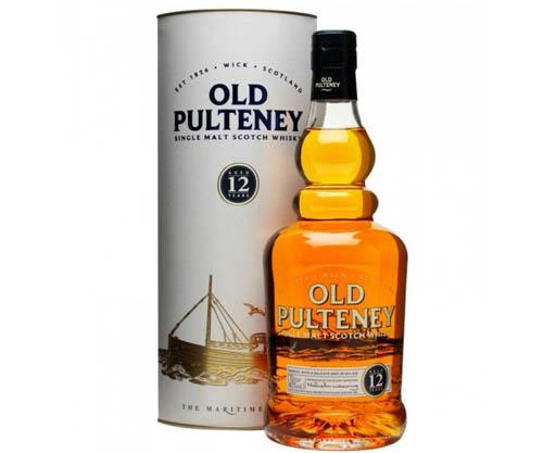 Old Pulteney 12 Year Old Single Malt Scotch Whisky 700ml