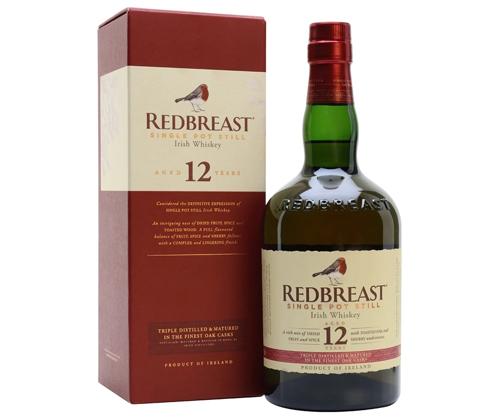 Redbreast 12 Year Old Single Pot Still Irish Whiskey 700ml