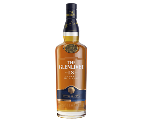 The Glenlivet 18 Scotch Whisky 700mL