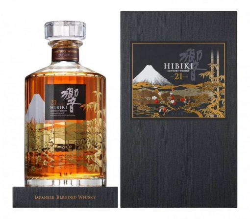 Hibiki 21 Year Old Mount Fuji Limited Edition 2015
