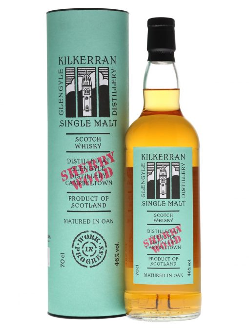 Kilkerran Work in Progress 7 Sherry Wood Single Malt Scotch Whisky 700mL