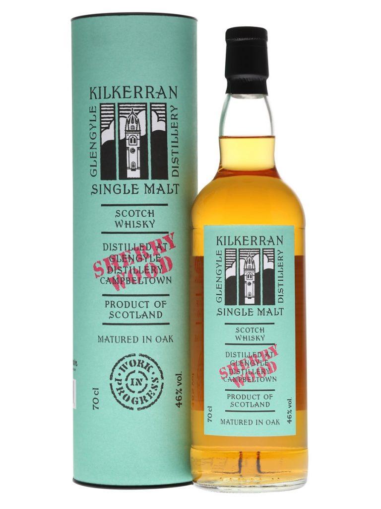 Kilkerran Work in Progress 7 Sherry Wood Single Malt Scotch Whisky 700mL