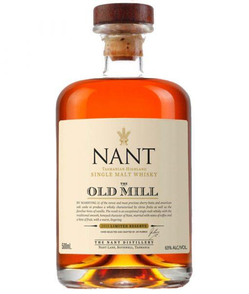 Nant Single Malt Old Mill Reserve Tasmanian Highland Whisky 500ML