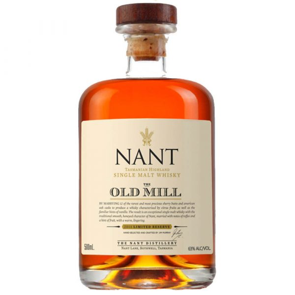 Nant Single Malt Old Mill Reserve Tasmanian Highland Whisky 500ML