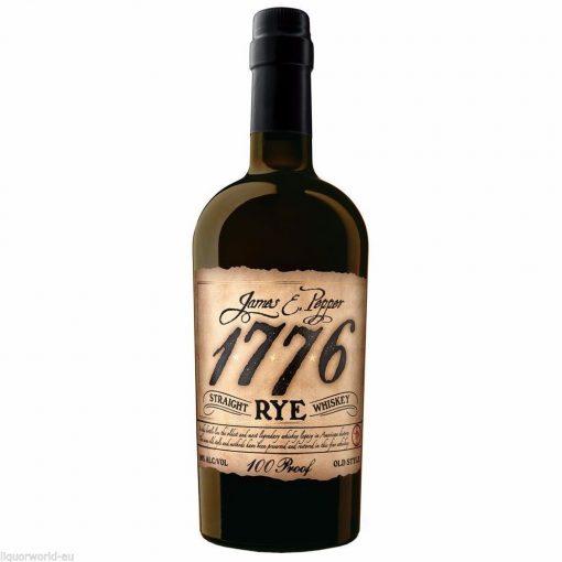 James E. Pepper 1776 100 Proof Straight Rye Whiskey 750ml