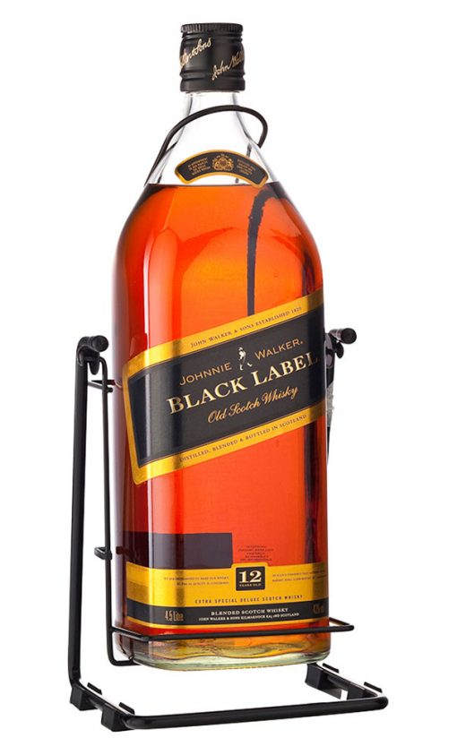 Johnnie Walker Cradle – Red Label Scotch Whisky Cradle 3 Litre