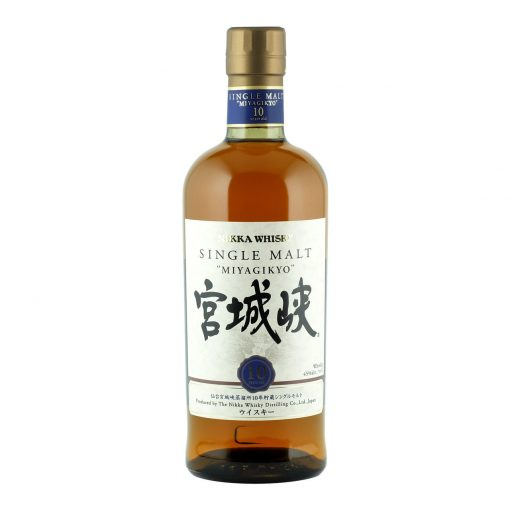 Nikka Miyagikyo 10 Year Old Single Malt Japanese Whisky 700ml