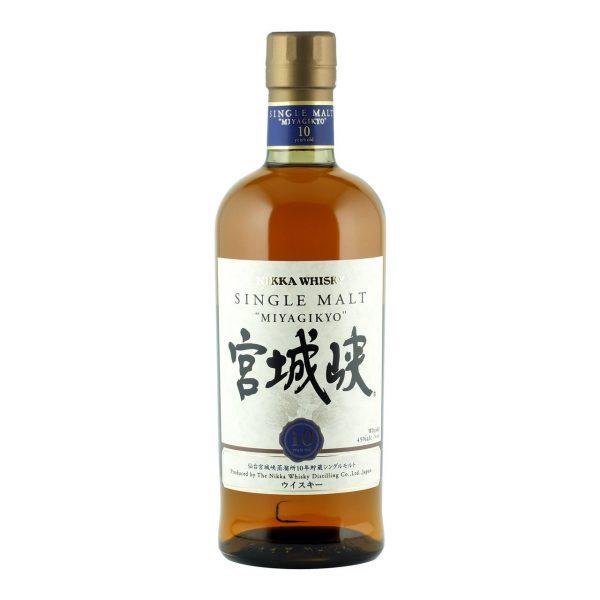 Nikka Miyagikyo 10 Year Old Single Malt Japanese Whisky 700ml