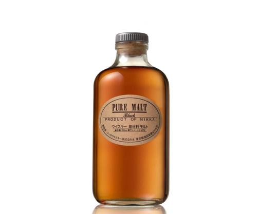 Nikka Pure Malt Black Blended Malt Japanese Whisky (500ml)