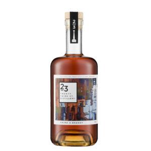 23rd Street Distillery Prime 5 Brandy 700mL