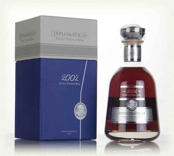 2002 Diplomatico Single Vintage Rum (700ml)
