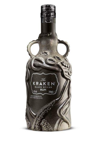 The Kraken Limited Edition Ceramic Black Spiced Rum 700mL