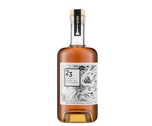 23rd Street Distillery Not Your Nanna's Brandy 700mL