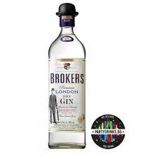 BROKERS PREMIUM LONDON DRY GIN 40%