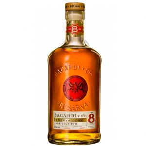 Bacardi 8 Year Old Rum 700mL