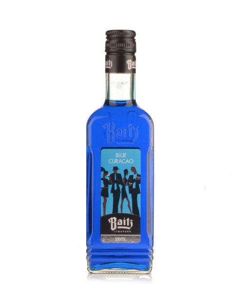 Baitz Blue Curacao Liqueur-500mL