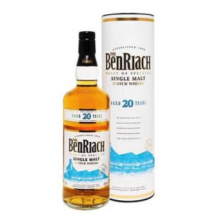 Benriach 20 Year Old Single Malt Scotch Whisky 700mL