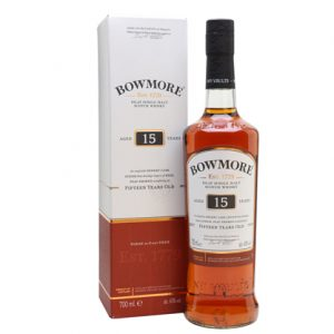 Bowmore Sherry Cask Finish 15 Year Old Single Malt Scotch Whisky 700ml