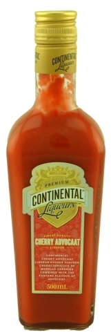 Continental Cherry Advocaat Liqueur 500ml