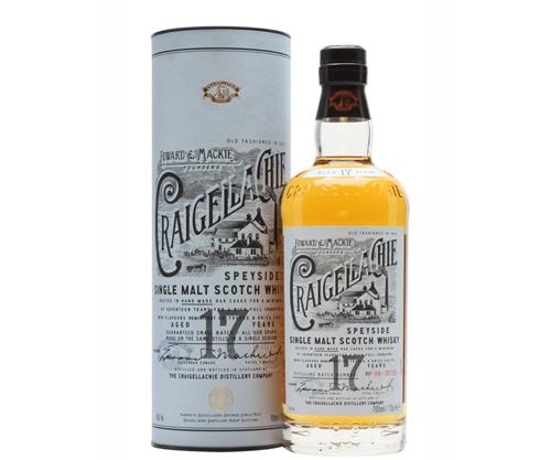 Craigellachie 17 Year Old Single Malt Scotch Whisky 700ml