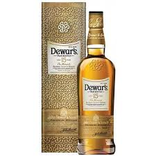 DEWARS 15 YEAR OLD WHISKY