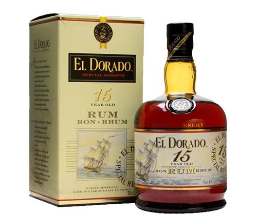 El Dorado 15 Year Old Rum 700ml