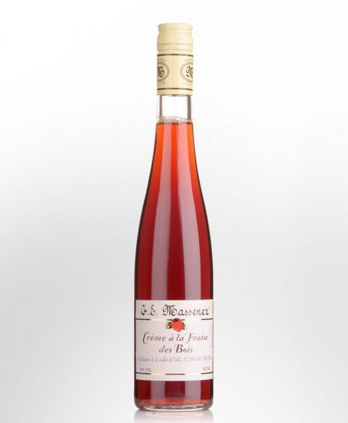 G.E. Massenez Creme a la Fraise des Bois (Wild Strawberry) Liqueur (500ml)