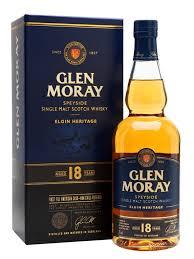GLEN MORAY SCOTCH 18 YEAR OLD
