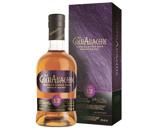 GlenAllachie 12 Year Old Single Malt Scotch Whisky 700ml