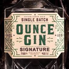 IMPERIAL MEASURES DISTILLING OUNCE GIN BOLD