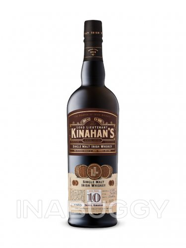 Kinahans 10 Year Old Single Malt Irish Whiskey