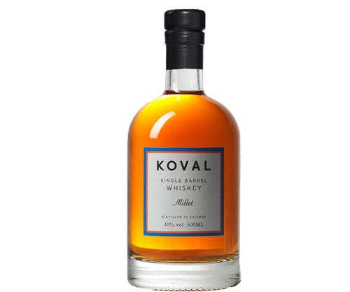 Koval Single Barrel Millet Whiskey 500ml